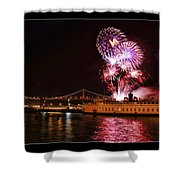 San Francisco New Years Eve Shower Curtain