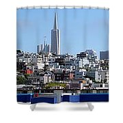 San Francisco Panorama Shower Curtain