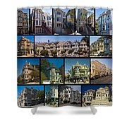 San Francisco Victorians 2 Shower Curtain