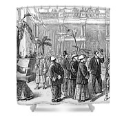 San Fransisco Hotel, 1878 Shower Curtain