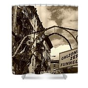 San Gennaro Shower Curtain