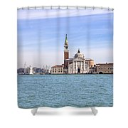 San Giorgio Maggiore Shower Curtain by Joana Kruse