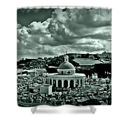 San Juan Cemetey 2 Shower Curtain