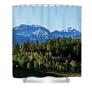 San Juans Colorado Shower Curtain