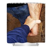 San Pasqual Battlefield Shower Curtain