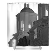 San Xavier Del Bac Mission Tucson Shower Curtain