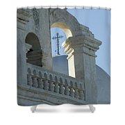 San Xavier Del Bac Vignette Shower Curtain