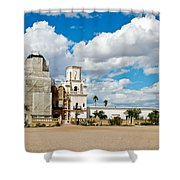 San Xavier Mission Tucson Az  Shower Curtain