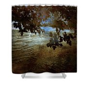 Sanctuary By The River Shower Curtain