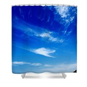 Sand And Sky Shower Curtain