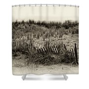 Sand Dune In Sepia Shower Curtain