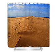 Sand Dune Of Canaria Shower Curtain