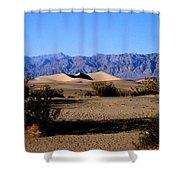 Sand Dunes In Death Valley Shower Curtain