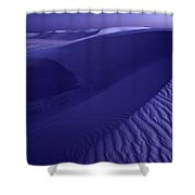 Sand Dunes. These Dunes Form When Solid Shower Curtain