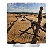 Sand Shower Curtain