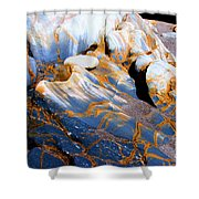 Sand Lines Shower Curtain