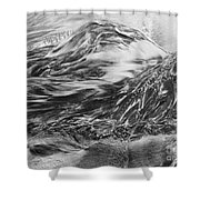 Sand Painting 10 Shower Curtain