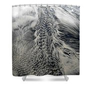 Sand Painting 12 Shower Curtain