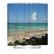 Sandals Cay Shower Curtain