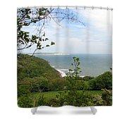 Sandown On Isle Of Wight Shower Curtain