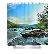 Sandstone At New River Shower Curtain