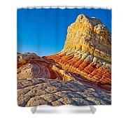 Sandstone Swirls Arizona Shower Curtain