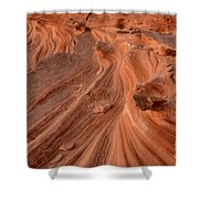 Sandstone Waves Little Finland Shower Curtain
