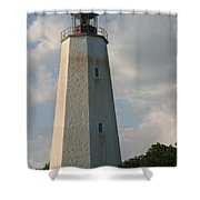 Sandy Hook Lighthouse 2 Shower Curtain