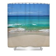 Sandy Makena Beach Shower Curtain