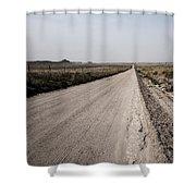 Sandy Road Shower Curtain