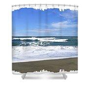 Sandy Shores Of Oregon Shower Curtain