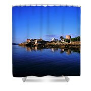 Sandycove, Co Dublin, Ireland The James Shower Curtain