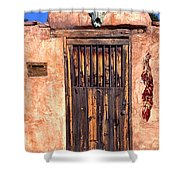Santa Fe Door Shower Curtain