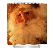 Santa Shower Curtain