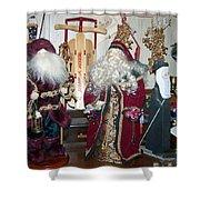 Santas Helpers Shower Curtain