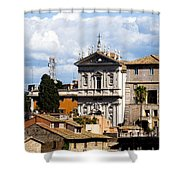 Santi Domenico E Sisto Shower Curtain