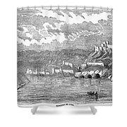 Santiago De Cuba, 1853 Shower Curtain