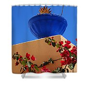 Santorini Vignette Shower Curtain