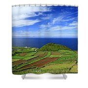 Sao Miguel - Azores Islands Shower Curtain