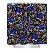 Sapphire Surprise Shower Curtain