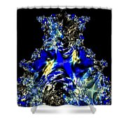 Sapphires Shower Curtain