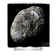 Saturns Moon Hyperion Shower Curtain