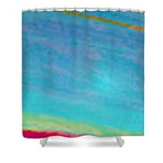 Saturns Ring Reflections Shower Curtain