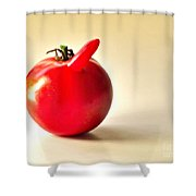 Saucy Tomato Shower Curtain
