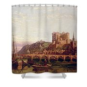 Saumur -  By The Loire Valley  Shower Curtain