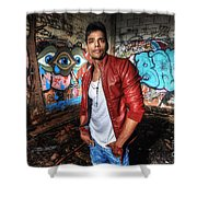 Saurabh4 Shower Curtain