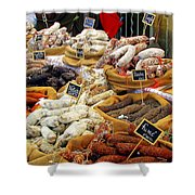 Sausages For Sale Shower Curtain