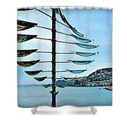 Sausalito Coast Shower Curtain