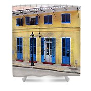 Savan Wilby Wilson Home Shower Curtain