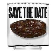 Save The Date Shower Curtain